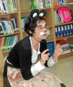 Loles Gutiérrez, conocida cariñosamente como 'Mamá Cuentacuentos'.