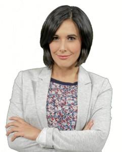 Alma Alanís, periodista onubense.