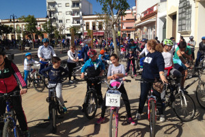 Los niños disfrutaron de la Fiesta de la Bicicleta.