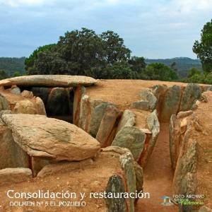 Imagen del Dolmen nº 5 de El Pozuelo.
