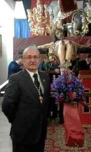 Juan Francisco Calero, hermano mayor de la Lanzada.
