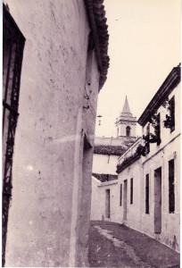 La calle Madre Ana, en realidad es Almirante Garrocho. / Foto: Domingo Martín.