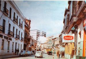 Tramo de la actual calle Jesús Nazareno.
