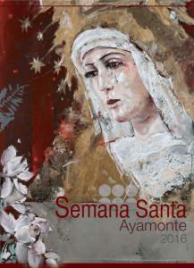 Cartel de la Semana Santa de Ayamonte 2016.