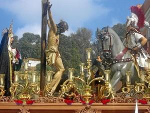 Imagen del Cristo de la Lanzada.