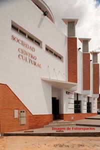Fachada del Casino del Centro. Nerva.