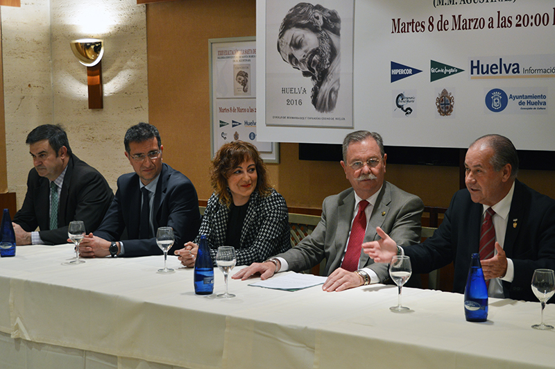 Antonio González se sintió agradecido a los organizadores por este tradicional acto