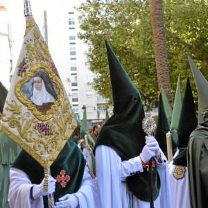 Santa Ángela de la Cruz, siempre presente en la Hermandad de la Esperanza