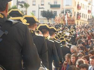 Una hermandad que imprime majestuosidad a la Semana Santa de Huelva.
