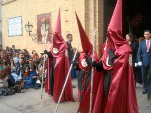 La Hermandad de la Fe, representada en el cortejo.