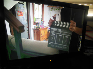Su primer cortometraje fue '(Re) encuentro'.