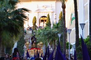 Huelva se encuentra con su Señor de Pasión cada Martes Santo en el Paseo Santa Fe