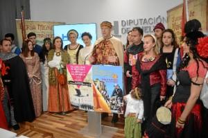 El alcalde de Palos, Carmelo Romero, ha presentado la Feria en la Diputación.