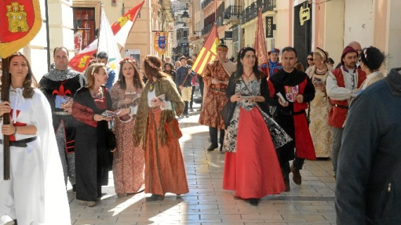 Palos de la Frontera conmemora la llegada de los marineros de América con su XVI Feria Medieval del Descubrimiento