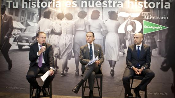 El Corte Inglés celebra con sus clientes su 75 aniversario