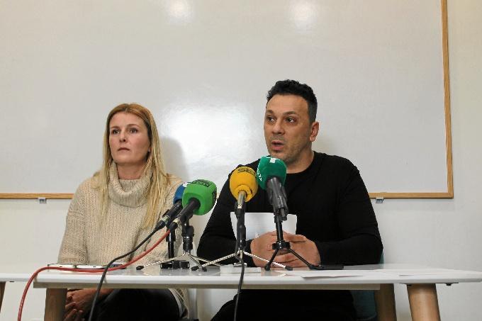 Fernando Palacios, en rueda de prensa, ha pedido disculpas públicamente.