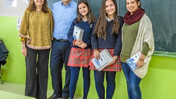 Dos alumnas del Cardenal Spínola de Huelva, ganadoras del Certamen de Relatos de 'Agua Inteligente'
