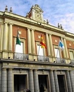 Fachada Ayuntamiento de Huelva.