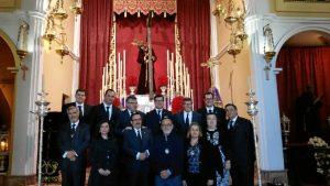 Junta de Gobierno de la Hermandad del Calvario.