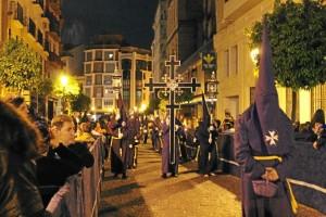 La Santa Cruz de Jerusalén es titular también de la Hermandad del Nazareno