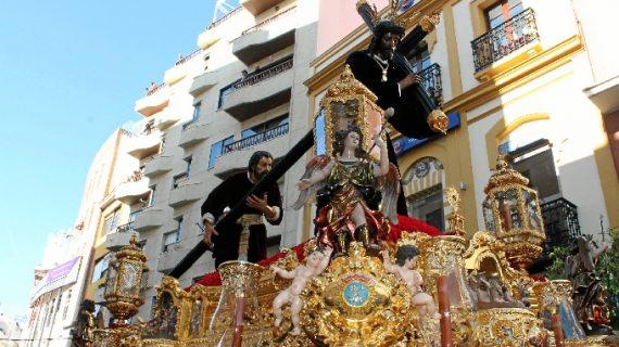 Todo preparado en la Hermandad del Nazareno de Huelva para vivir una nueva Madrugá
