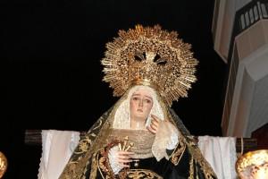 Una de las grandes tallas de la Semana Santa onubense.