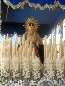 La Virgen de los Dolores lucirá tanto el Viernes de Dolores como el Martes Santo.