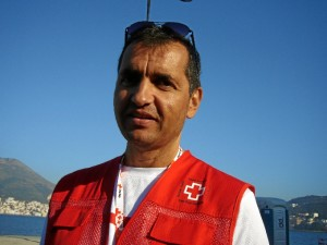 Henry Massieuxm es un francés afincado en Huelva ha vivido en primera persona la realidad de los refugiados.