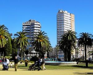 Vista del Parque de las Palomas.