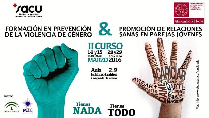 Universitarios se forman en igualdad y prevención de violencia de género