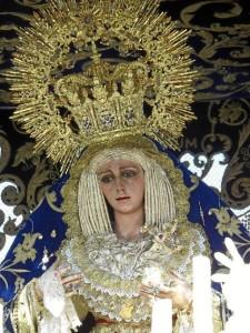 La Virgen de la Victoria.