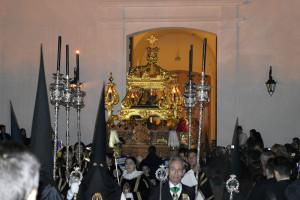Por segundo año, la Hermandad volverá a salir por la puerta que da a la plaza Virgen de las Angustias