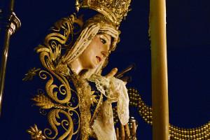 Soledad de María estrenará la primera fase de su nuevo palio