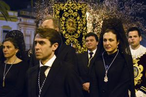 Las hermandades y autoridades de la ciudad acompañarán en su caminar a la Hermandad Oficial