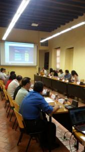 Una imagen del taller celebrado en Colombia.