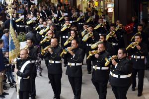 La banda apuesta por el estilo clásico incluso en detalles como su uniforme