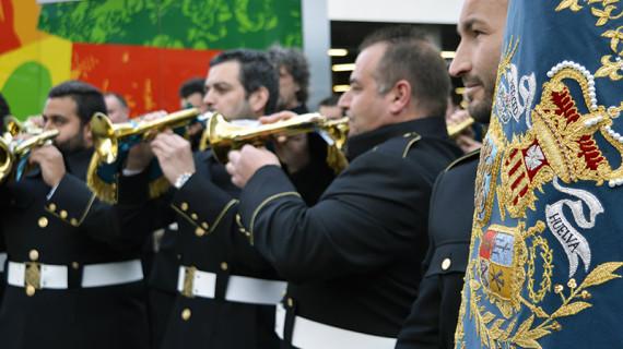 Ilusión y veteranía, las dos claves con las que la Banda de la Merced afronta la que será su primera Semana Santa