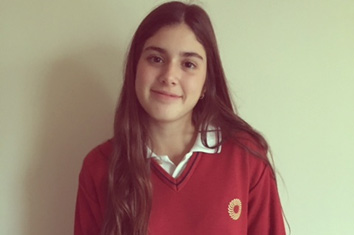 La Fundación Amancio Ortega elige a la onubense Maite Rebollo para otorgarle una beca para estudiar Bachillerato en EEUU
