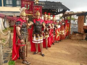 La Centuria Romana procesionará por primera vez este año con el Cautivo.