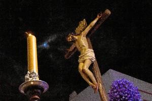 Momento del Domingo de Ramos en Ayamonte.