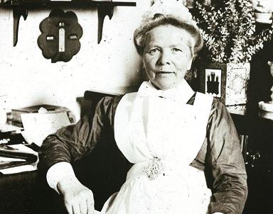 Miss Ferrier, una enfermera escocesa en el Hospital de Alto de la Mesa de Minas de Riotinto