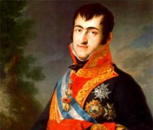 Con la vuelta de Fernando VII fue desterrado de la Corte. / Foto: biografíasyvidas.com