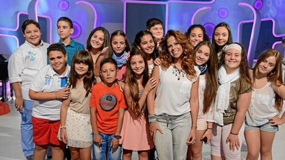 Tres concursantes de 'Se Llama Copla Junior' actúan en Nerva