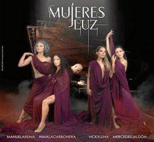 Cartel del espectáculo, 'Mujeres Luz'.