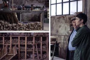 Granada Barrero ha recorrido talleres de artesanos andaluces para investigar la silla de anea.