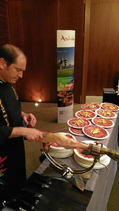 El jamón de Jabugo es uno de los productos estrella de cara a la promoción del destino Huelva.