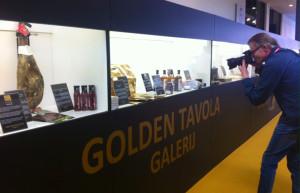 El producto se muestra en una galería especial.