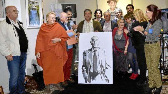 Pintura, música y poesía se dan la mano en un encuentro celebrado en Ayamonte