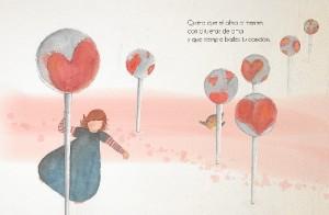 Una de las ilustraciones del cuento.