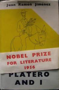 Edición norteamericana de 'Platero y Yo', 1956.